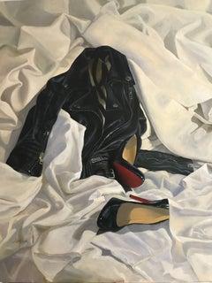 Night in I  Original realism still life painting