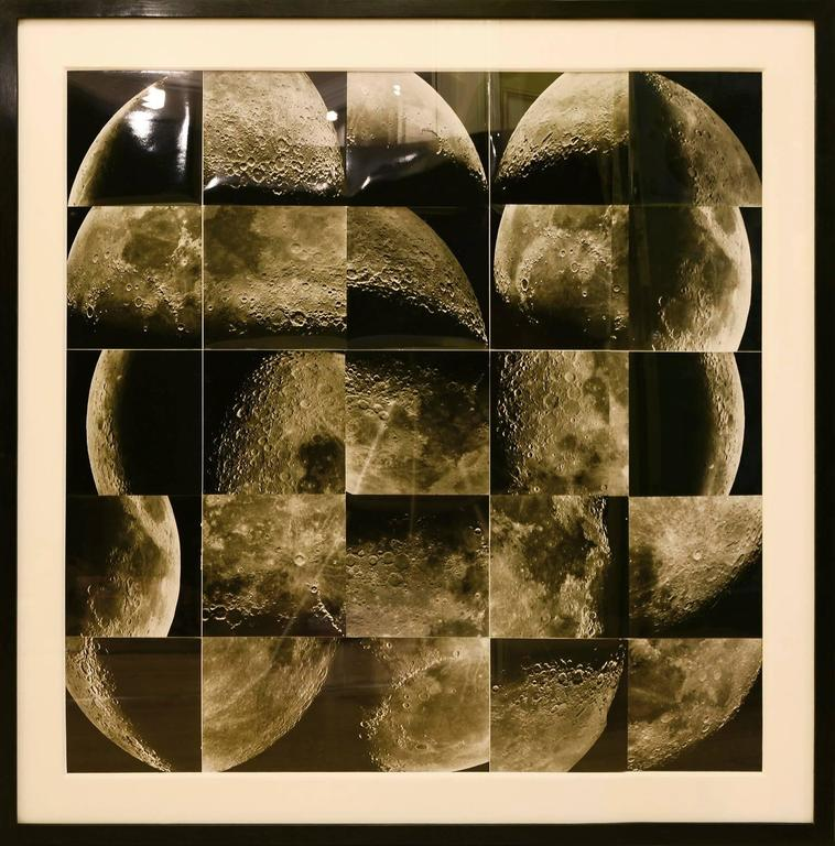 The Phases of the Moon, photographic paper, 1970