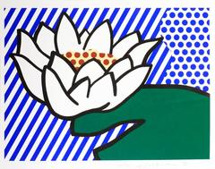 Roy Lichtenstein - Water Lily