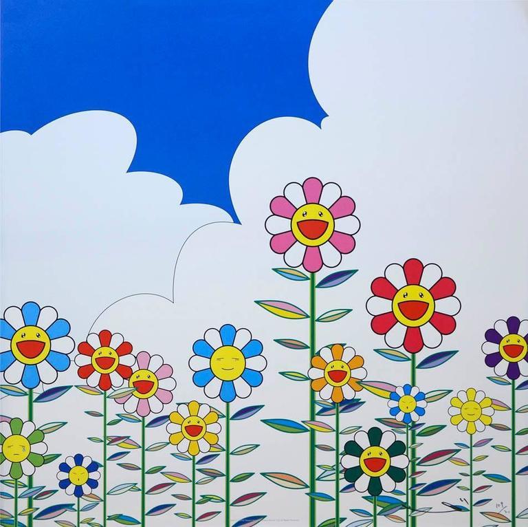 Flower 2 - Print by Takashi Murakami