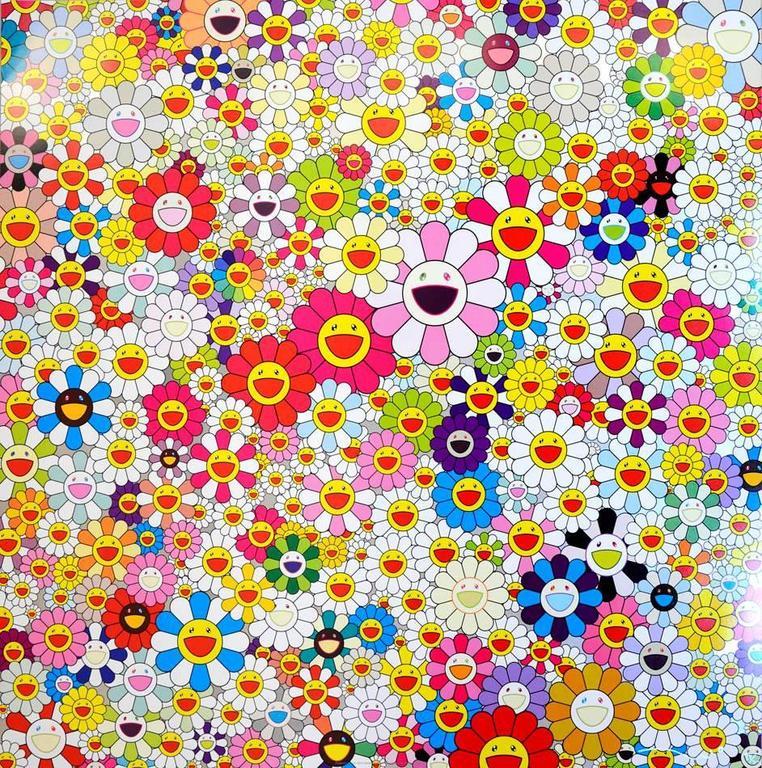 Flowers in Heaven - Print by Takashi Murakami