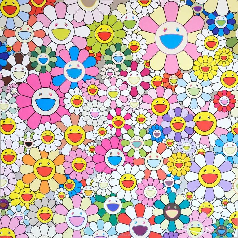 Flower Smile - Print by Takashi Murakami