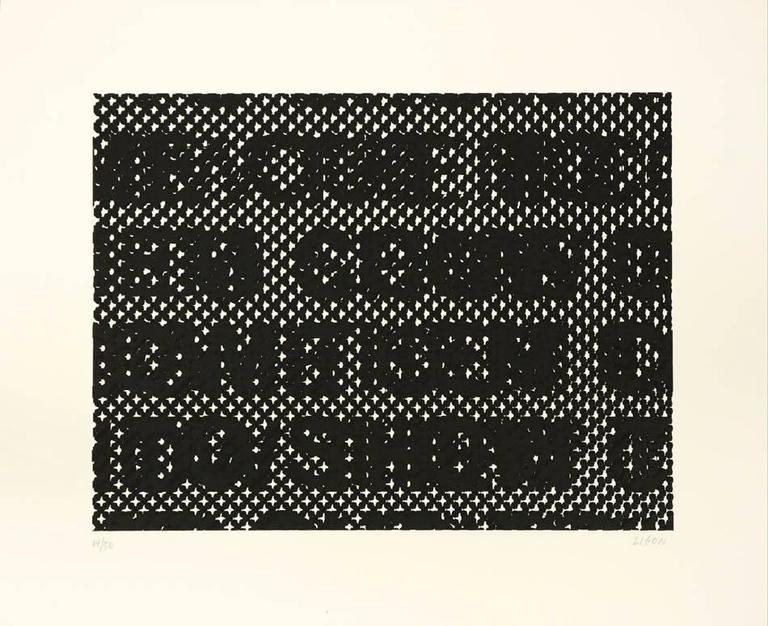 Glenn Ligon - Detail, 2014  1