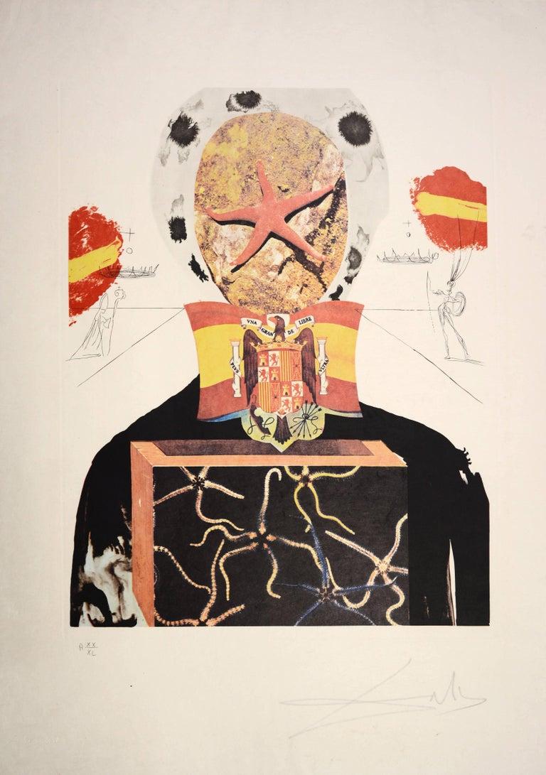 Salvador Dali, Surrealist King, from Memories of Surrealism.  1