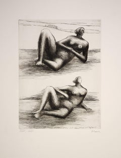 Two Reclining figures
