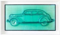 Claes Oldenburg, Profile Airflow, polyurethane, lithograph, 1968-69, signed