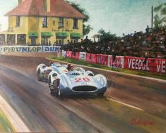 Karl Kling & J.M. Fangio -1954 Mercedes -Benz W 196
