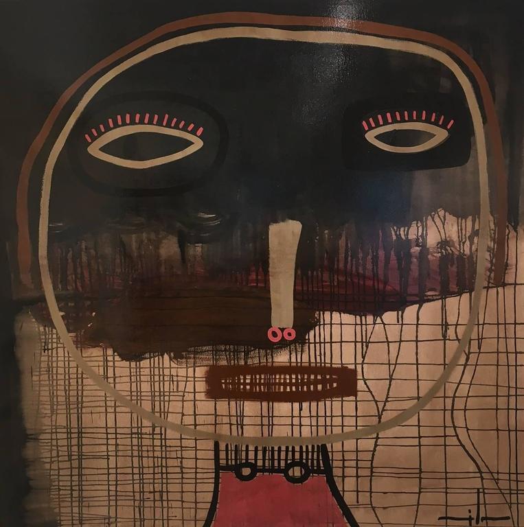 Milo Lockett Abstract Painting - NO TITLE