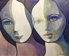 "OPPORTUNITY  ¡¡¡¡ COPONS - ORIGINAL ART OIL CANVAS - ""FIGURES"" 2012"
