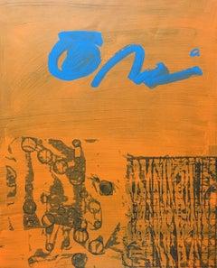 "RAFAEL RUZ - ORIGINAL ACRILYC ON PAPER - ""NO TITLE"" 2015"