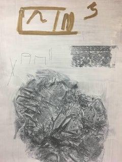 "RAFAEL RUZ - ACRYLIC PAPER ORIGINAL - "" NO TITLE "" 2015"