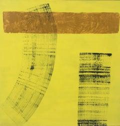 "RAFAEL RUZ - ORIGINAL ACRYLIC ON CANVAS - ABSTRACT - ""NO TITLE"" 2012"