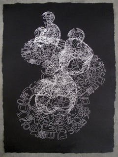 """NEW !!!! JAUME PLENSA - ORIGINAL ENGRAVING - LIMITED EDITION - """"INVISIBLE II"""""""