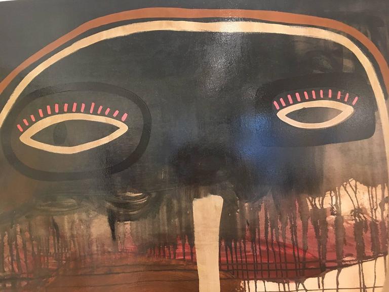 NO TITLE - Painting by Milo Lockett