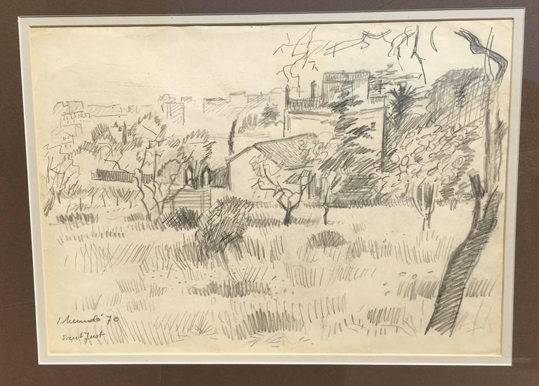 Original drawing of the Spanish artist