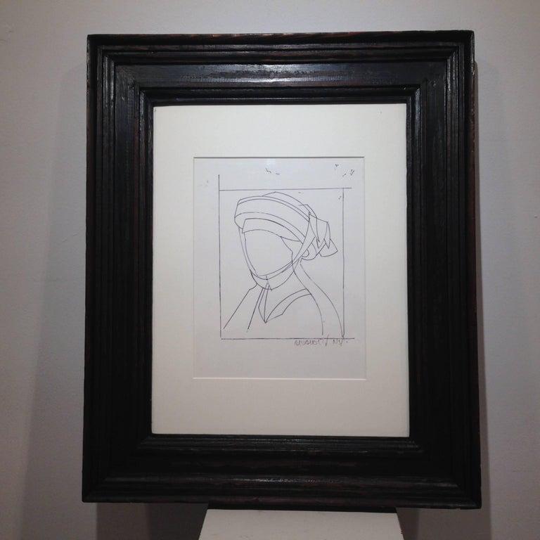 Manolo Valdes Abstract Painting - DON JUAN