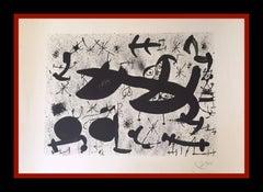 "JOAN MIRO - LITHOGRAPHY GRAPHYCS - ""HOMENATGE A JOAN PRATS"""