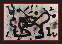 "JOAN MIRO - LITHOGRAPHY - ""HOMENATGE A JOAN PRATS"""