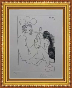 NEW ¡¡¡ - PICASSO - ORIGINAL GRAPHYC WORK - LIMITED EDITION - ETCHING - PERFECT