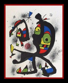 Joan Miró Art - 394 For Sale at 1stdibs