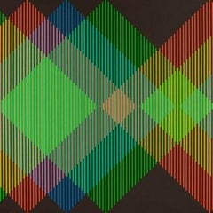 Serie Semana - Miércoles original lithography painting