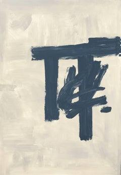 No title- Ruz- original abstract Acrylic canvas- 2105