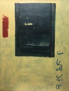 """""""INMUTABLE""""- Ruz- Original acrylic canvas-  2005"""