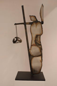 """HERA"" original iron sculpture 1995"
