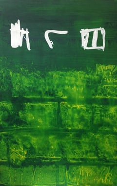 original. abstract. green