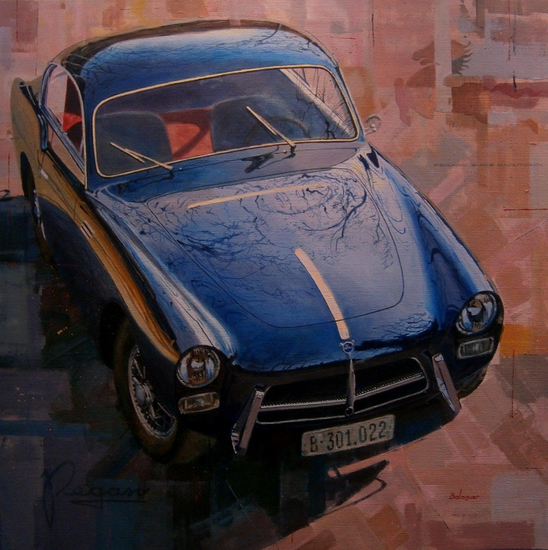 """""""Pegaso Z-102"""" 2015 original acrylic painting"""