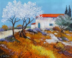Les Amandiers (The Almond Trees)