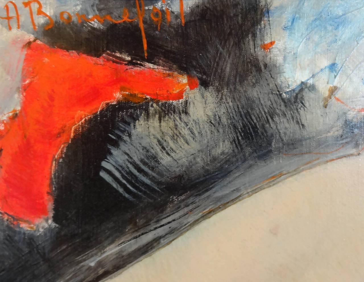 Glamour - Impressionist Painting by Alain Bonnefoit