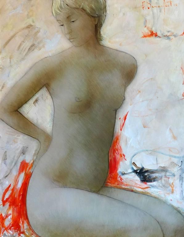 Alain Bonnefoit Nude Painting - Carolyn