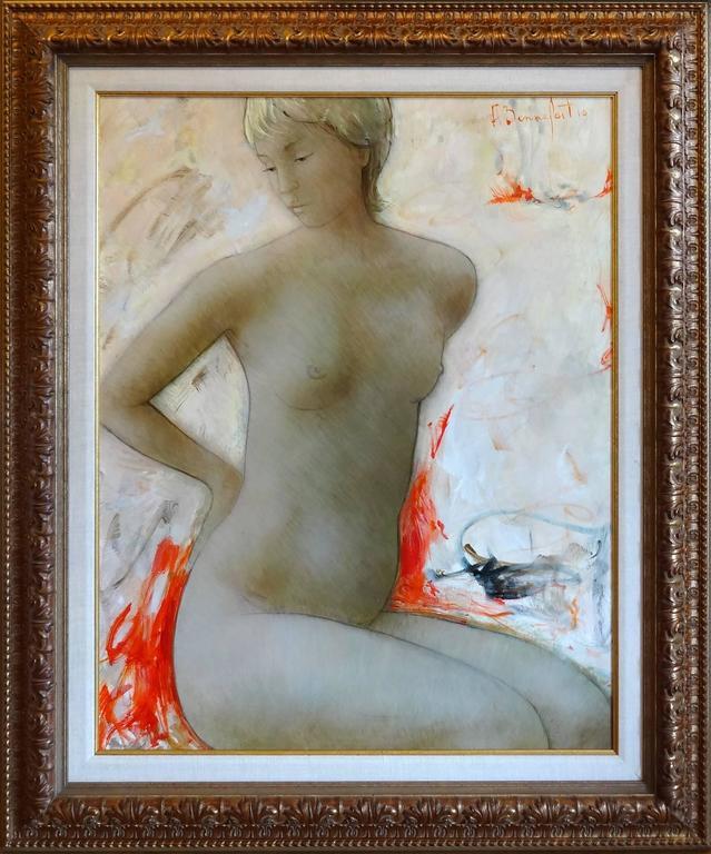 Carolyn - Painting by Alain Bonnefoit