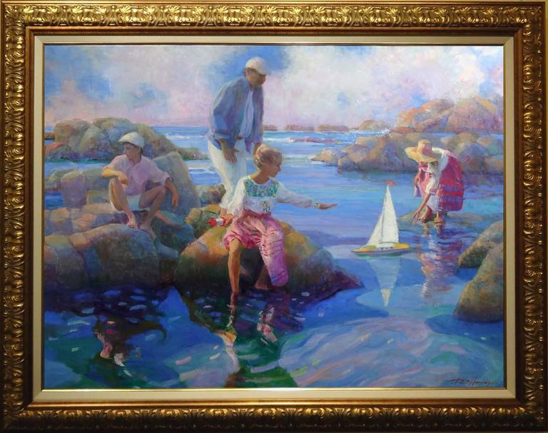 Memories at the Cove - Painting by Don Hatfield