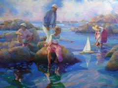 American Impressionist Portrait Paintings