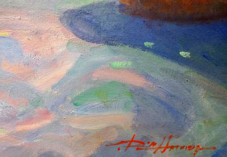 Memories at the Cove - American Impressionist Painting by Don Hatfield