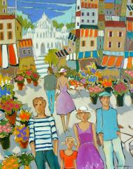 Place du marché de fleurs