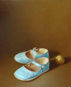 Turquoise Shoes II (Chaussures Turquoise II)