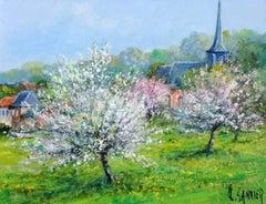 Apple Trees in Bloom (Pommiers en Fleurs, Village Picard)