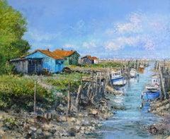 Le Canal sur l'Ile d'Oleron