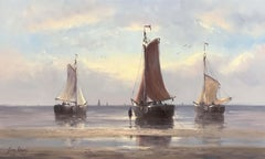 Old Dutch Fishing Boats