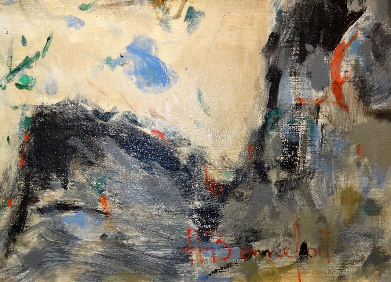Shanon - Impressionist Painting by Alain Bonnefoit