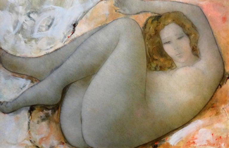 Alain Bonnefoit Nude Painting - Felicity
