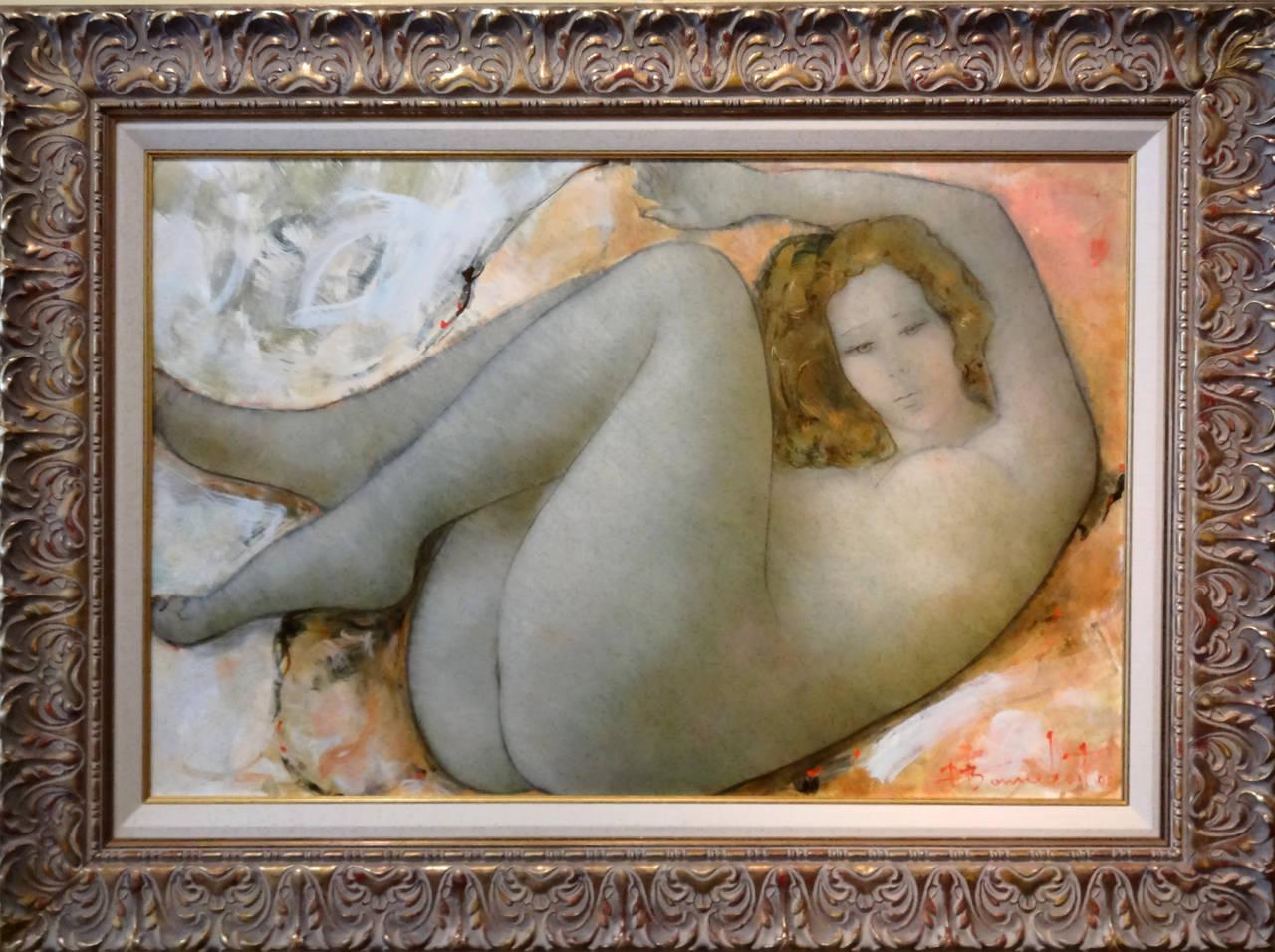 Felicity - Painting by Alain Bonnefoit