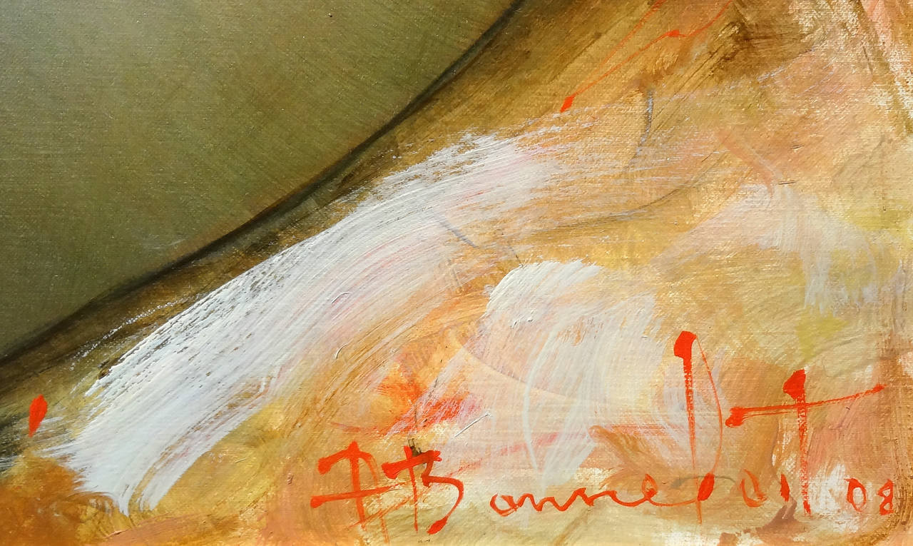 Felicity - Impressionist Painting by Alain Bonnefoit
