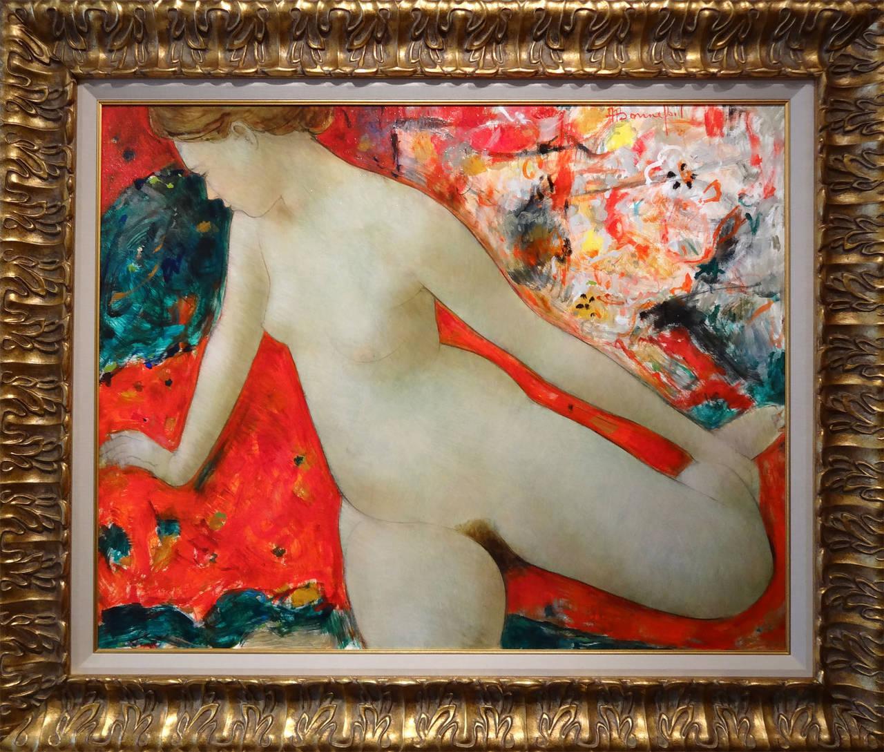 Primavera - Painting by Alain Bonnefoit