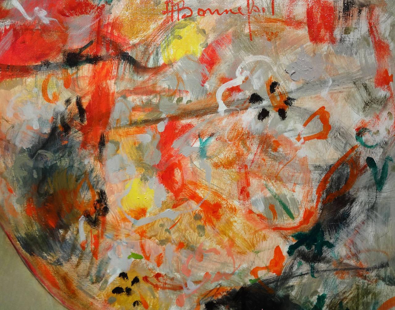 Primavera - Impressionist Painting by Alain Bonnefoit