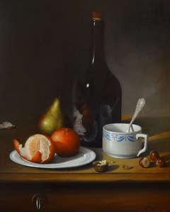 Mandarines, Poire et Tasse