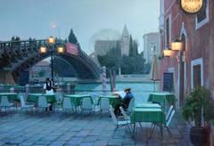 Venice, Cafe near Academia Bridge
